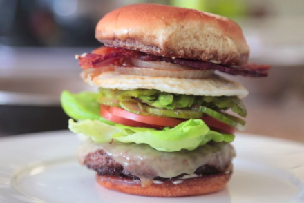 10-Layer Burger