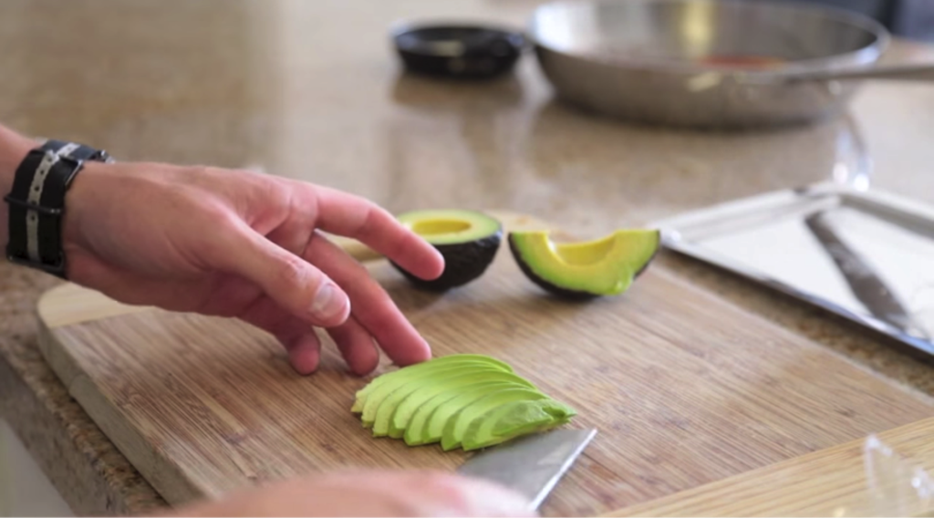 Sliced Avacado