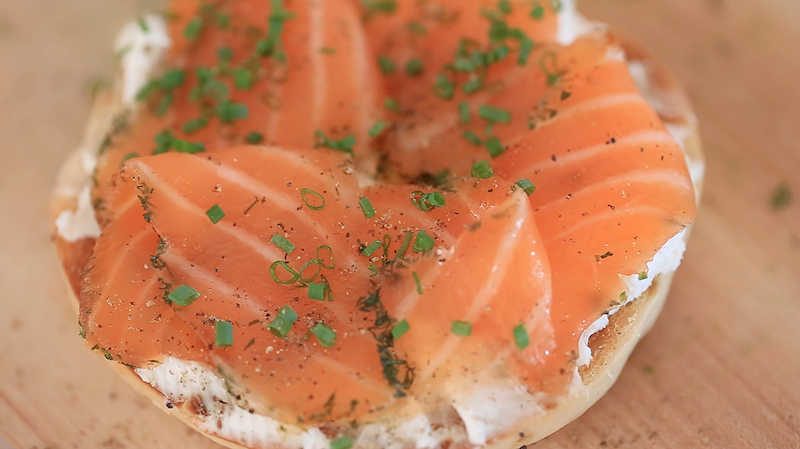 homemade lox life tastes good