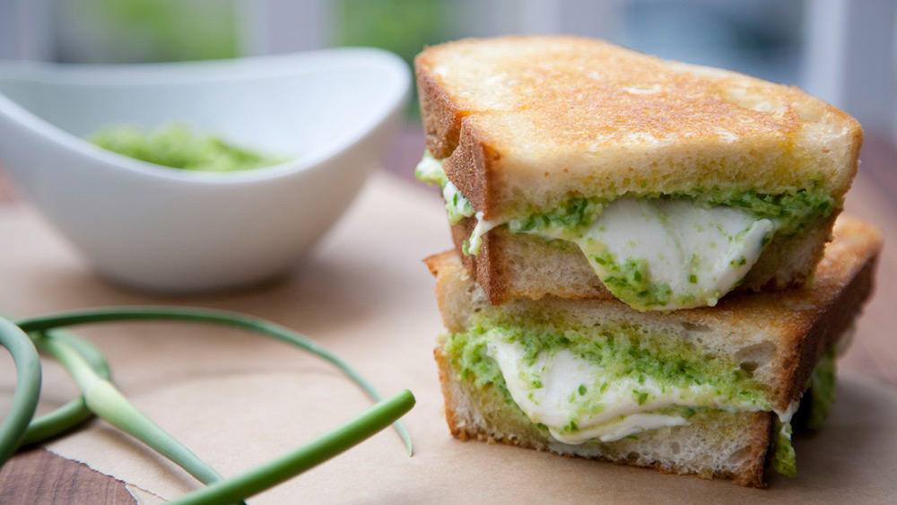 2013-07-08-r-garlic-scape-pesto-mozzarella-grilled-cheese